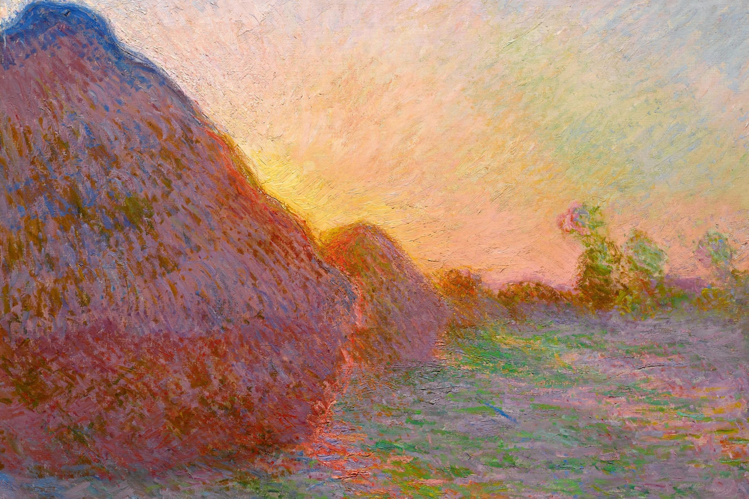 Claude Monet, Meules, 1890