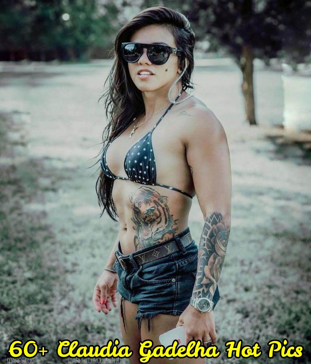 Claudia Gadelha topless pics
