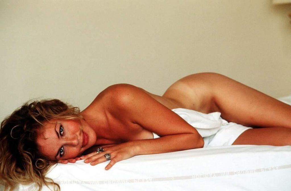 Connie Nielsen near nude pics