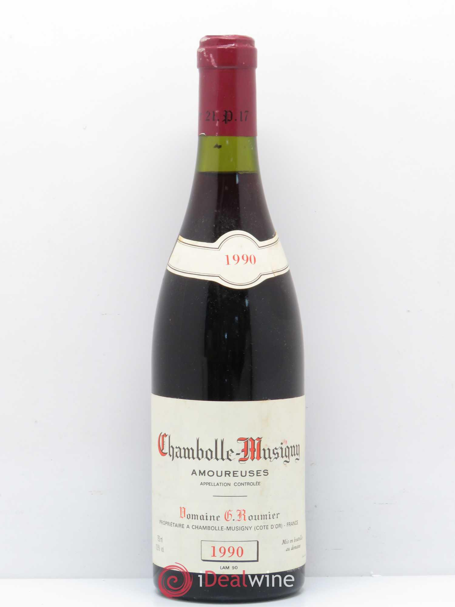 Domaine Georges & Christophe Roumier Musigny Grand Cru 1990