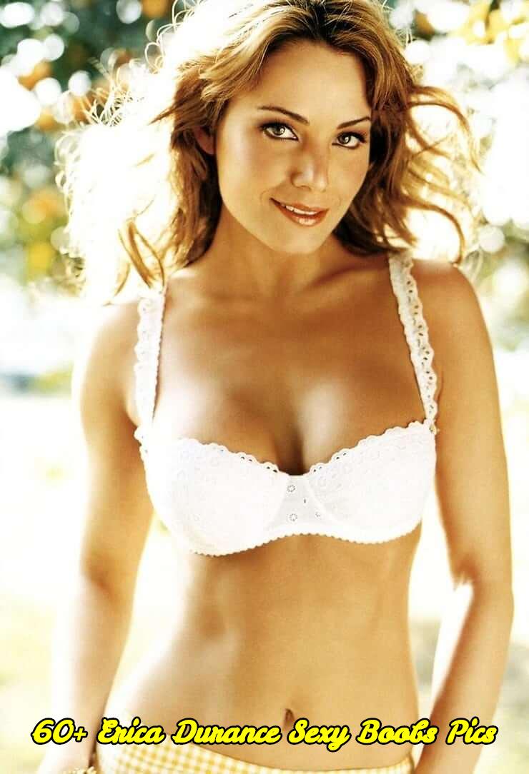 Erica Durance sexy boobs pics