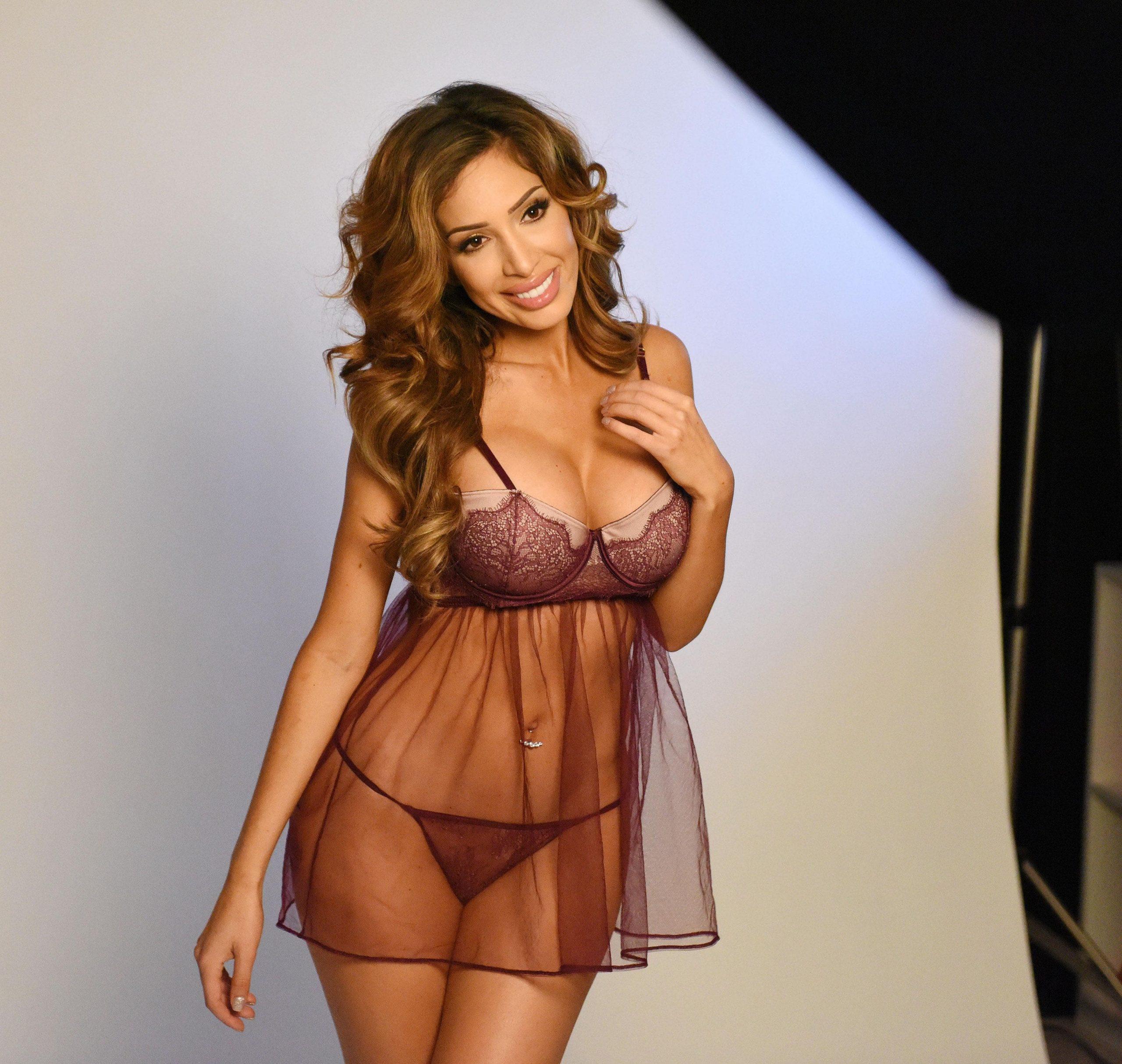 Farrah Abraham hot lingerie pics