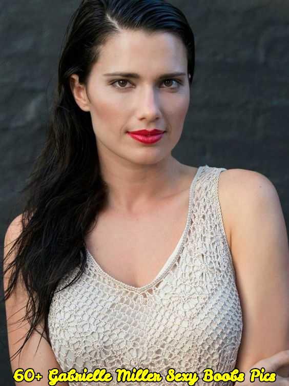 Gabrielle Miller sexy boobs pics