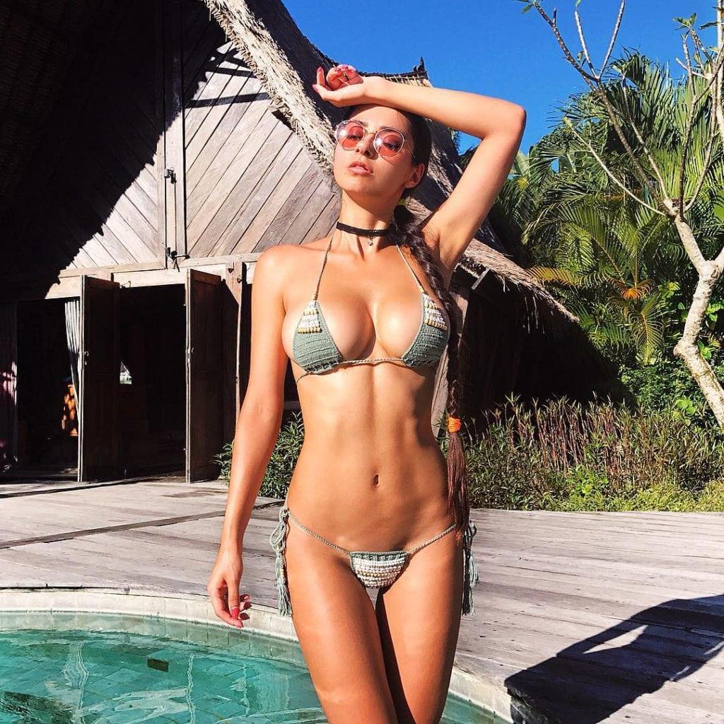 Helga Lovekaty lingerie pics