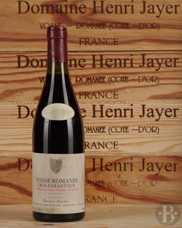 Henri Jayer Cros Parantoux, Vosne-Romanee Premier Cru, France