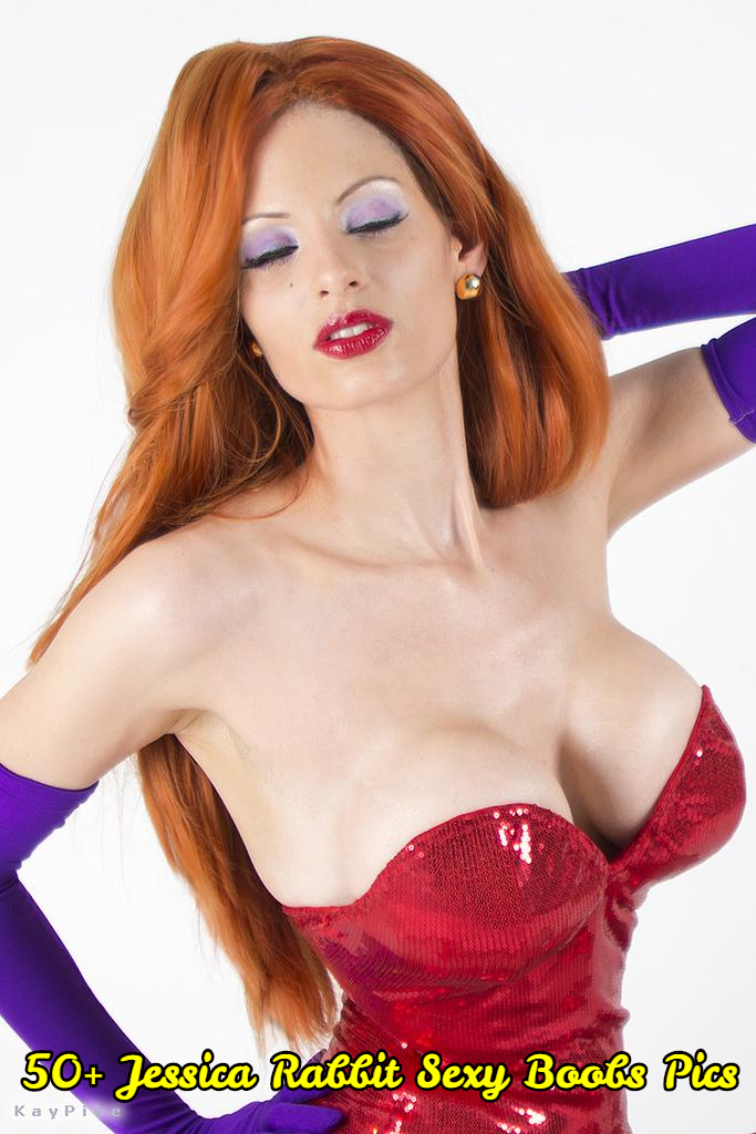 Jessica Rabbit sexy boobs pics