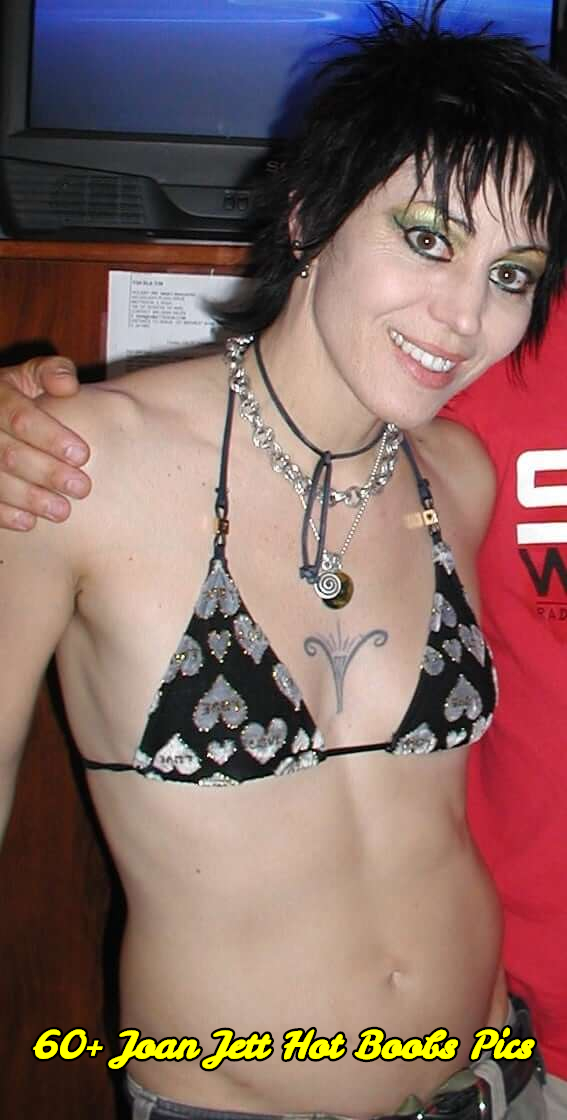 Joan Jett hot boobs pics