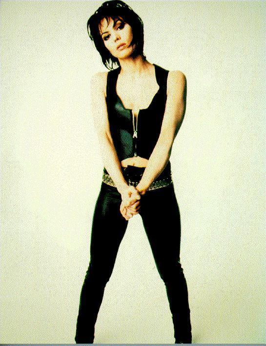 Joan Jett sexy cleavage pics