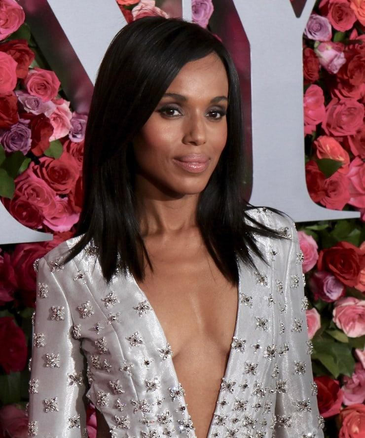 Kerry Washington sexy cleavage pictures