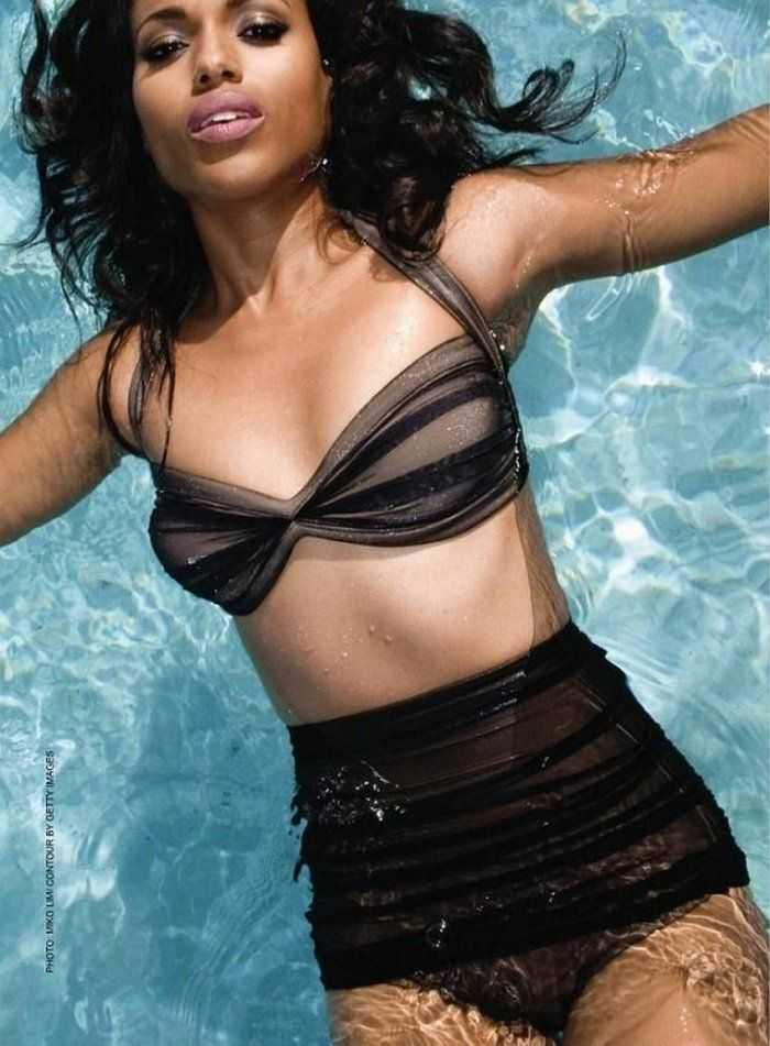 Kerry Washington sexy lingerie pics