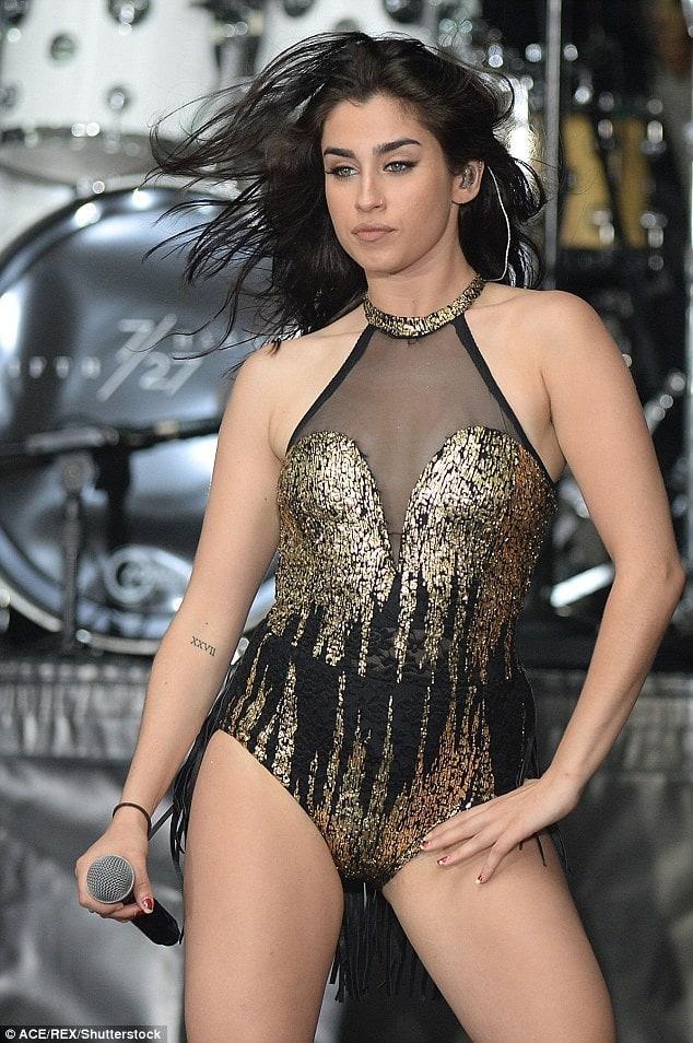 Lauren Jauregui hot lingerie pictures