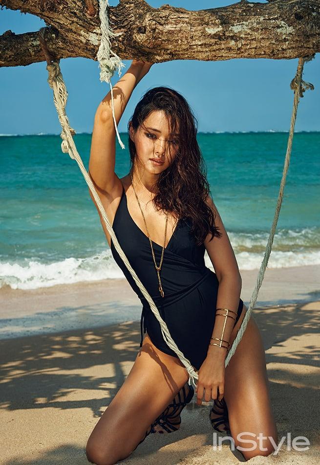 Lee Ha-nui sexy lingerie pics