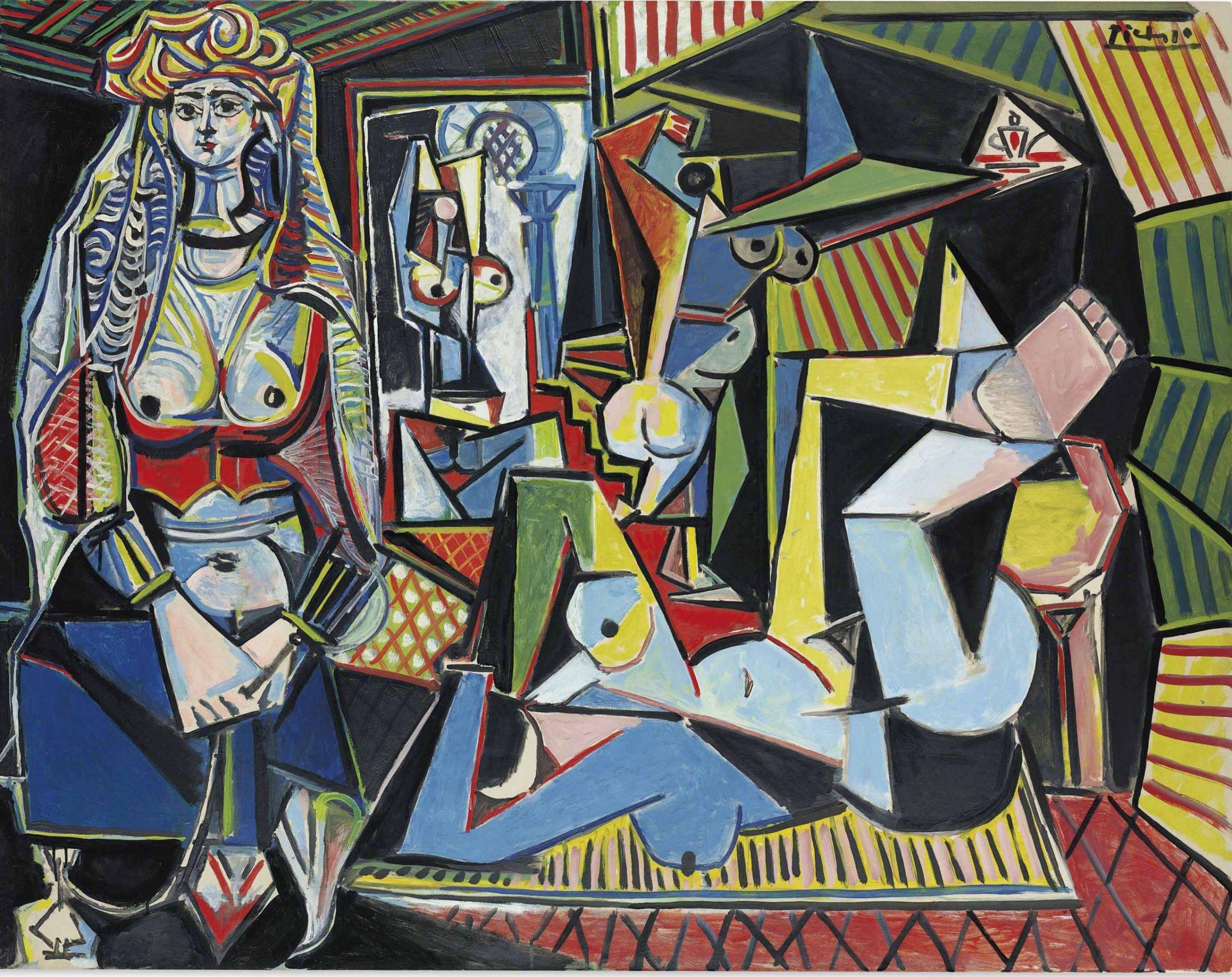 """Les Femmes d'Alger (""""Version O"""") – Pablo Picasso"""