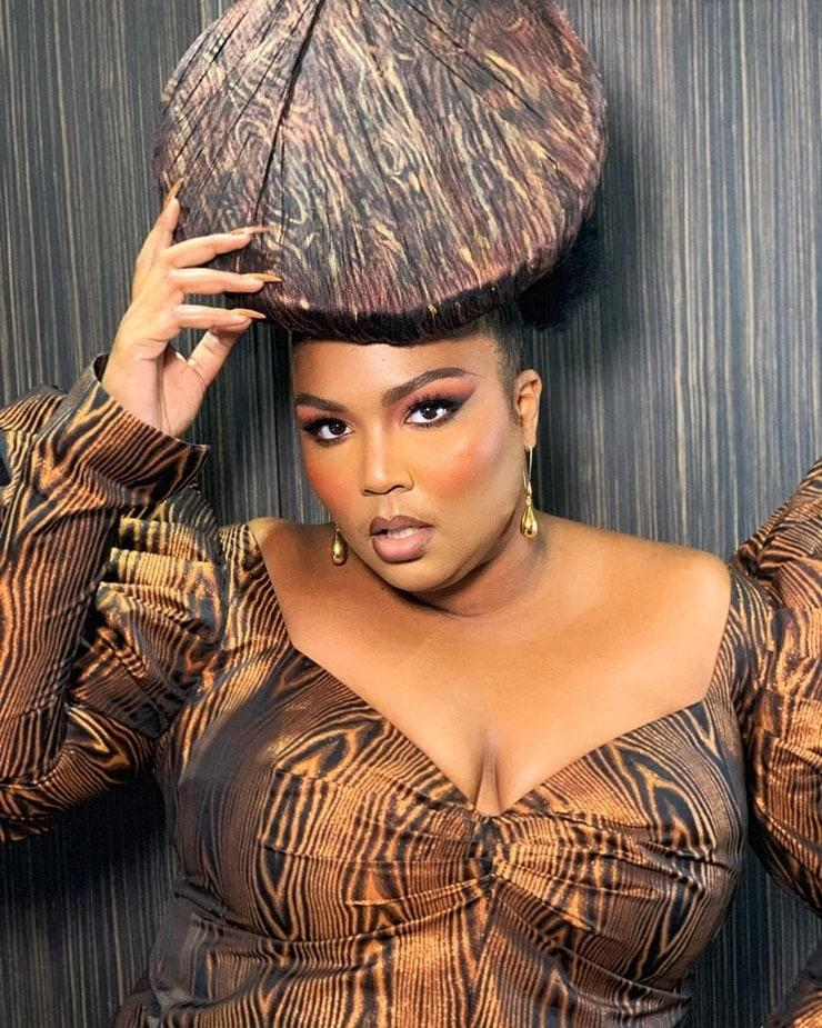 Lizzo sexy cleavage (2)