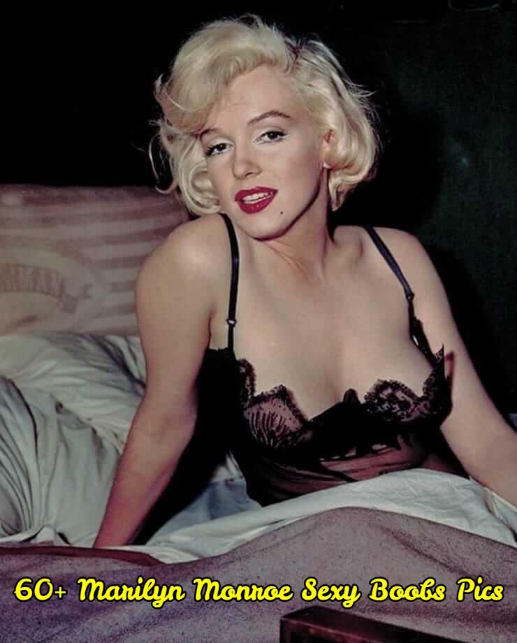 Marilyn Monroe sexy boobs pics.