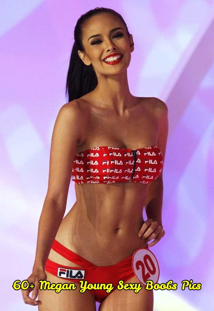 Megan Young sexy boobs pics
