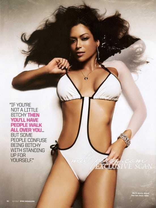 Melina Perez hot looks (1)