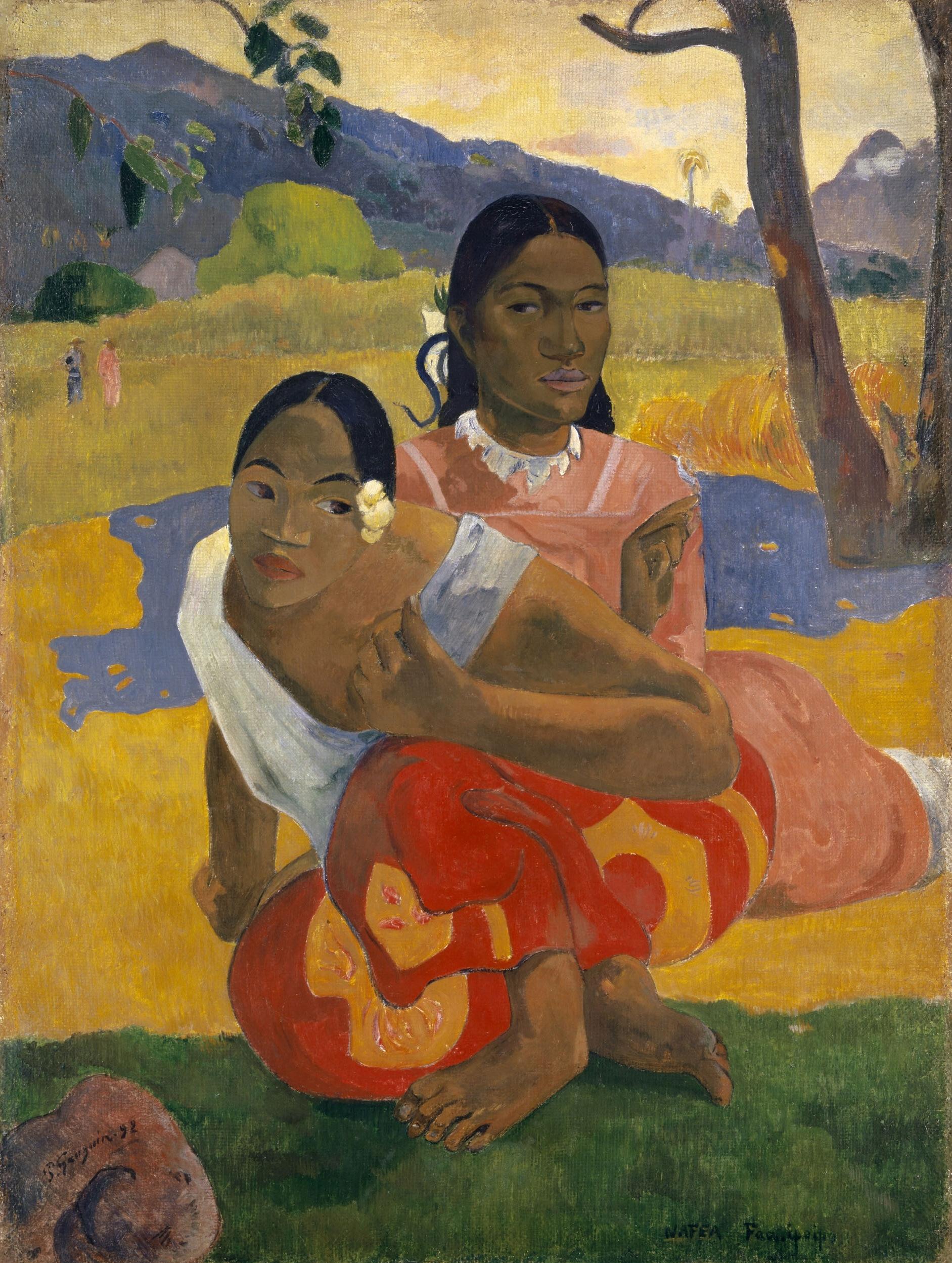 Nafea Faa Ipoipo – Paul Gauguin