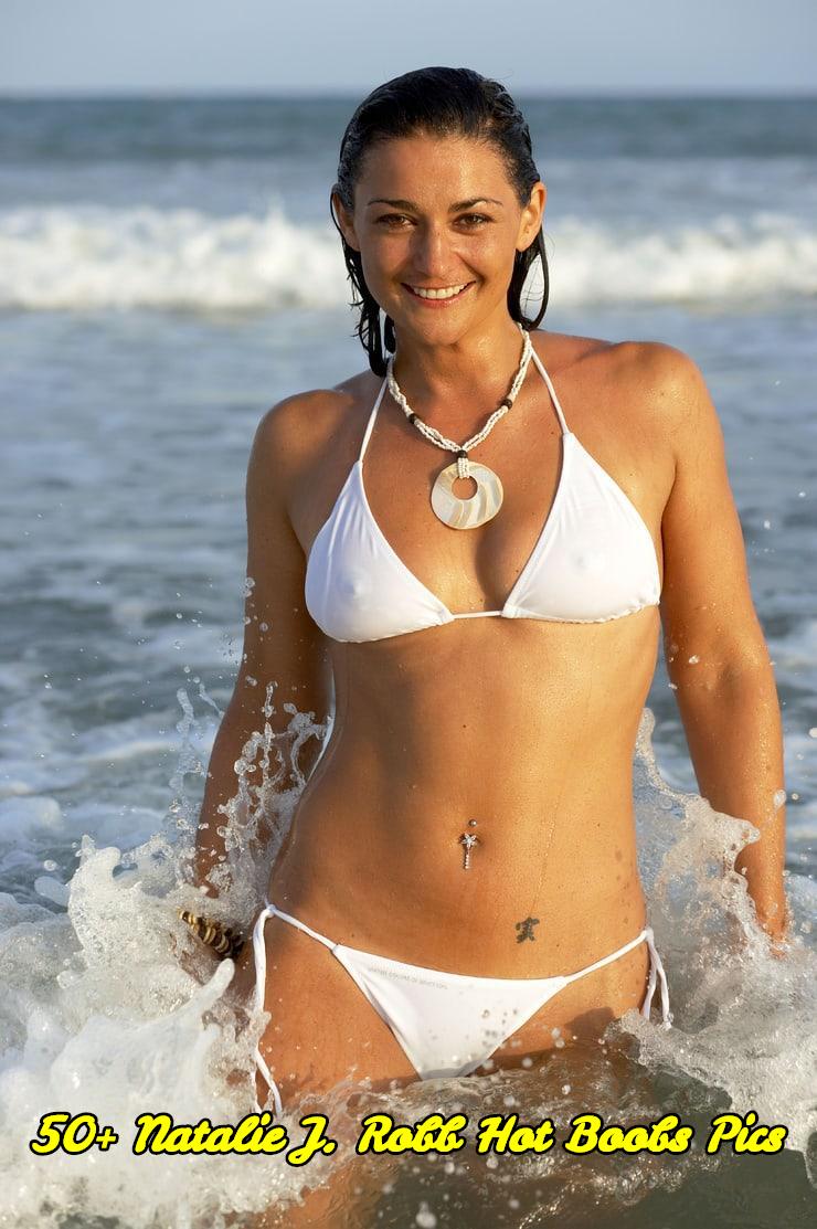 Natalie J. Robb hot boobs pics