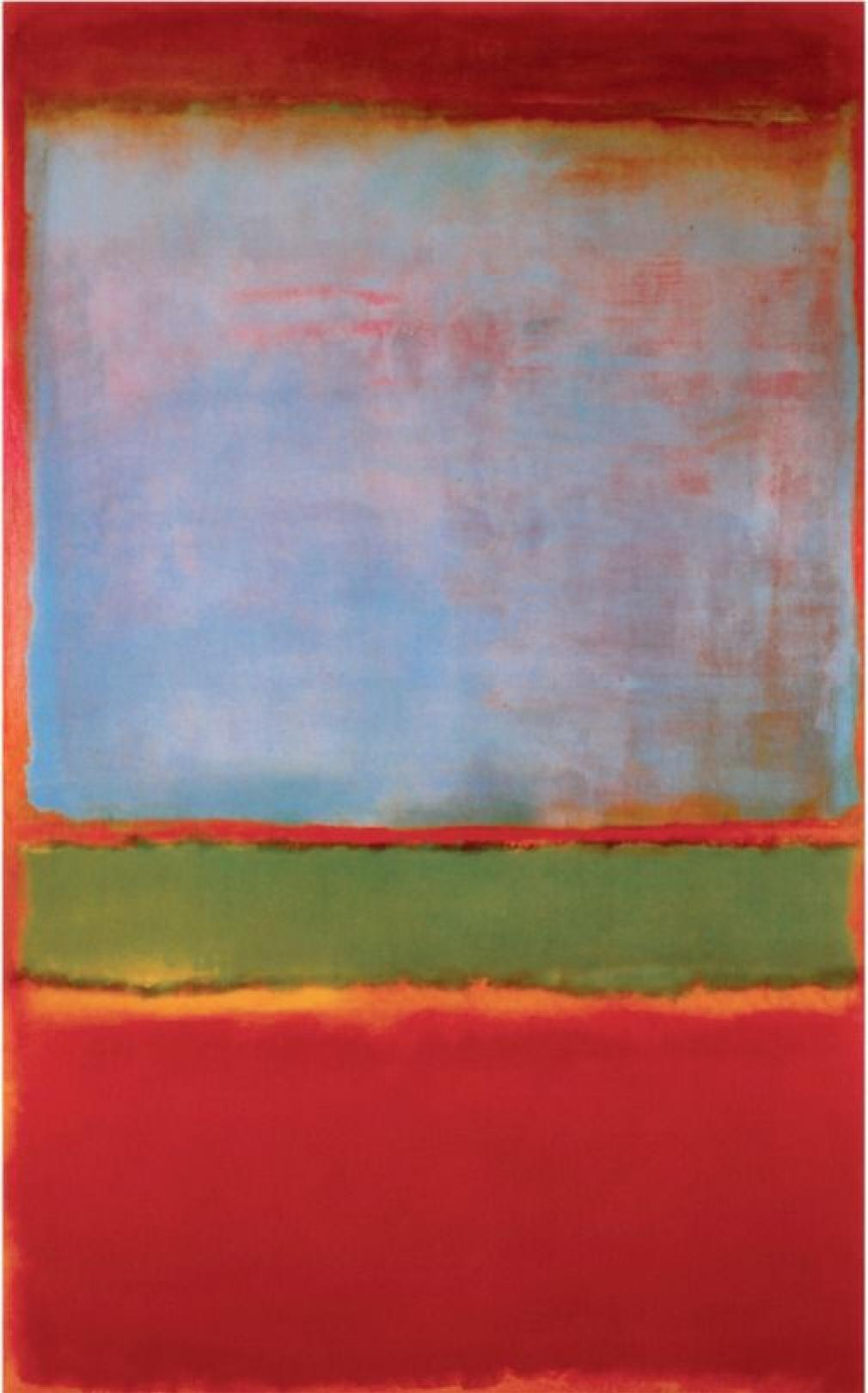 No. 6 (Violet, Green, and Red) – Mark Rothko