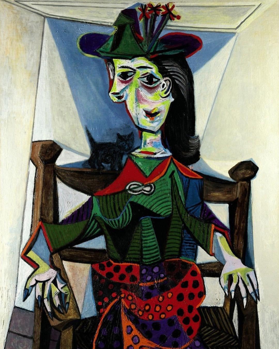 Pablo Picasso, Dora Maar au Chat, 1941