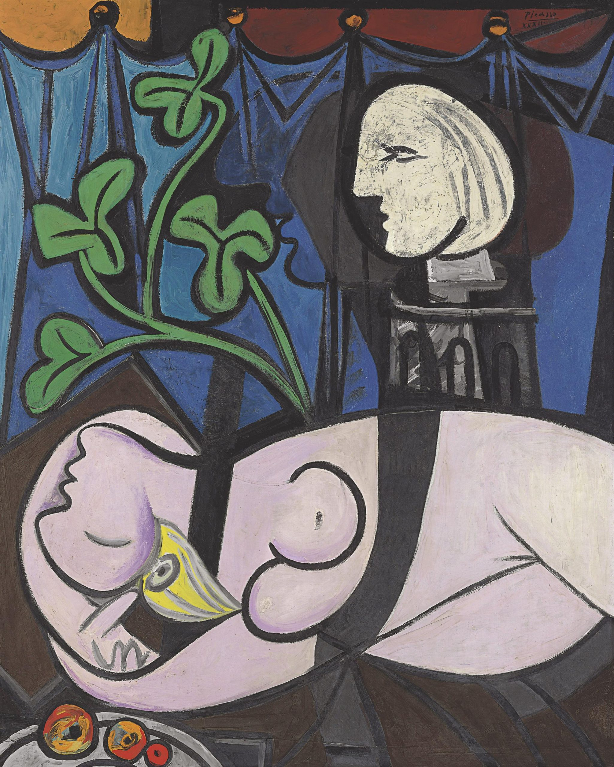 Pablo Picasso, Nude, Green Leaves and Bust, 1932