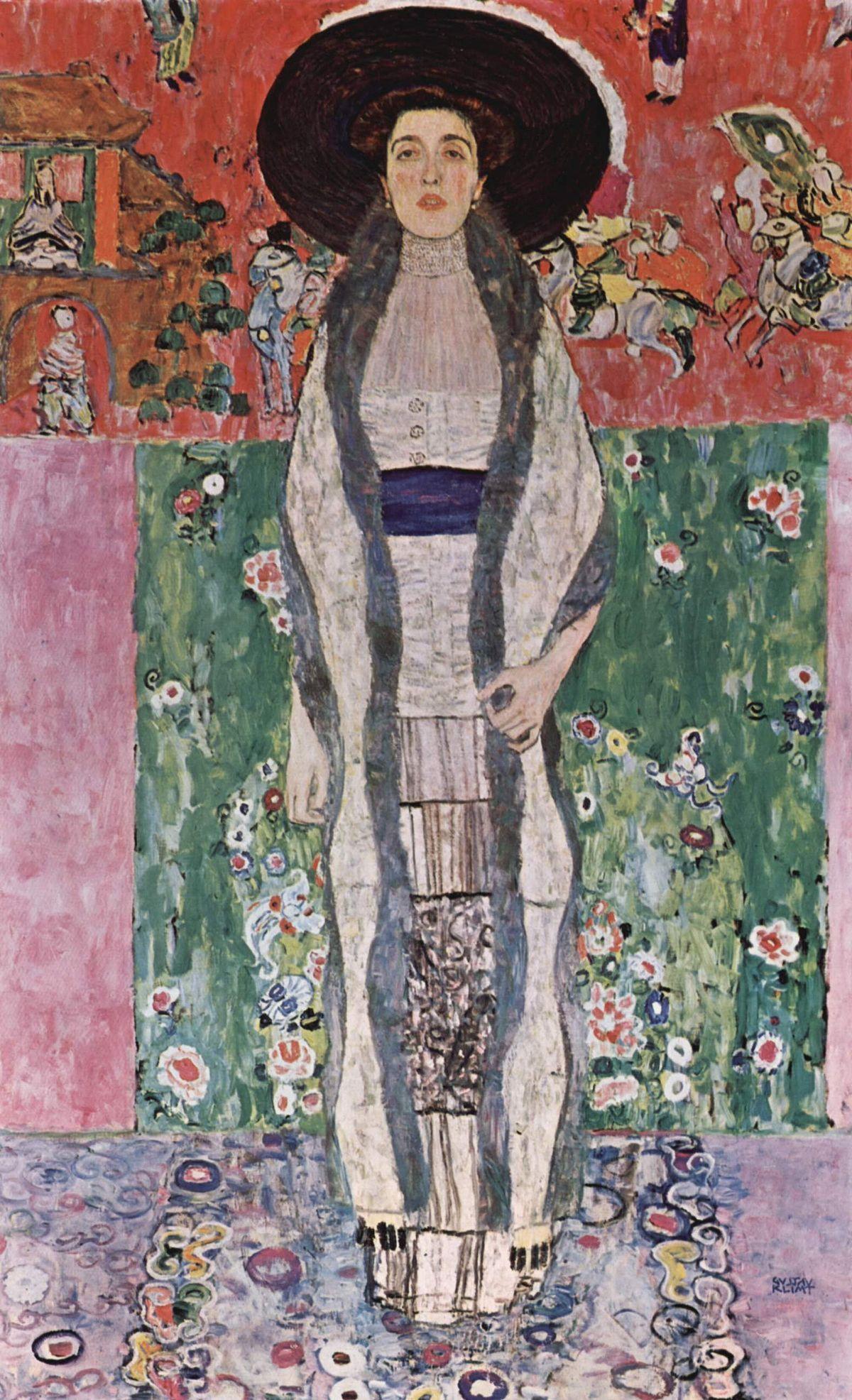Portrait of Adele Bloch-Bauer II – Gustav Klimt
