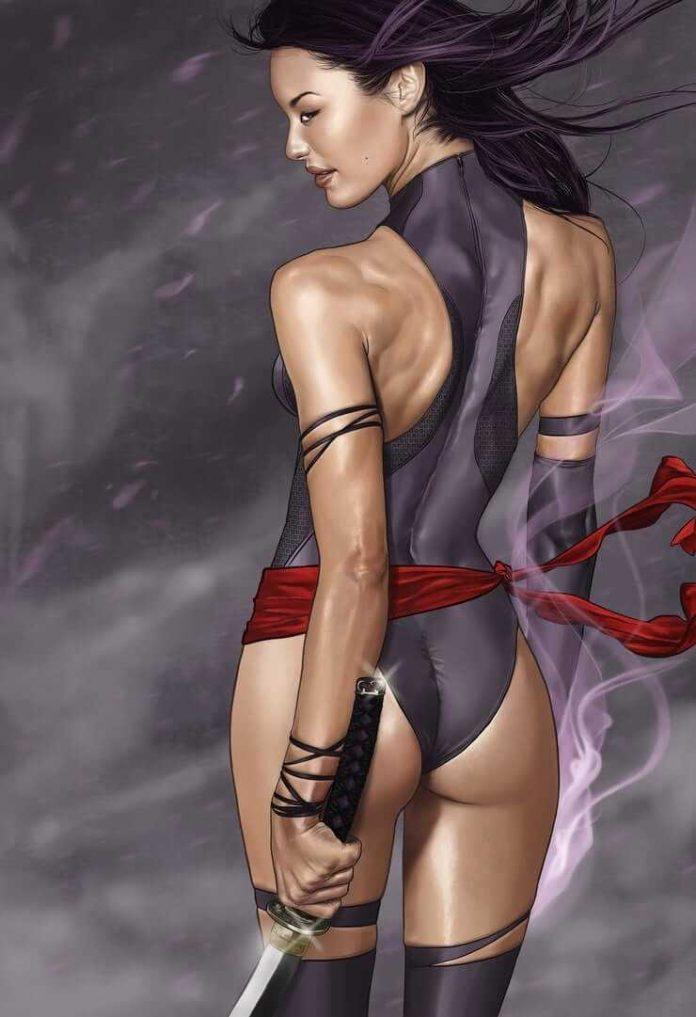 Psylocke sexy ass pics