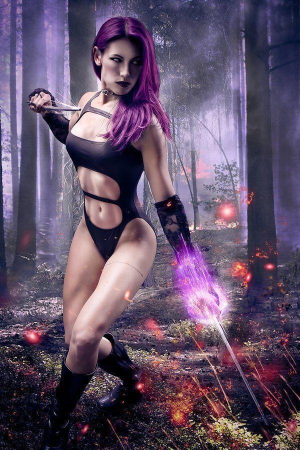 Psylocke sexy busty pics
