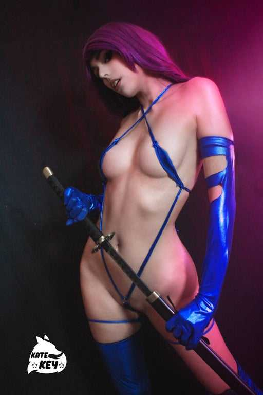 Psylocke topless pics