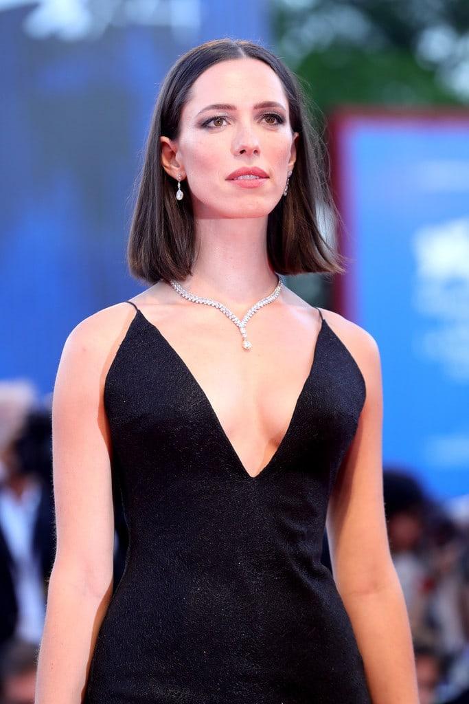 Rebecca Hall cleavage pics