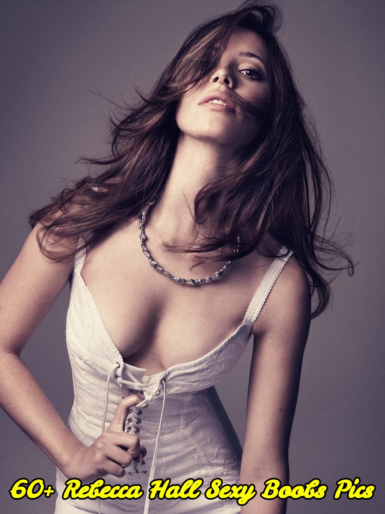 Rebecca Hall sexy boobs pics