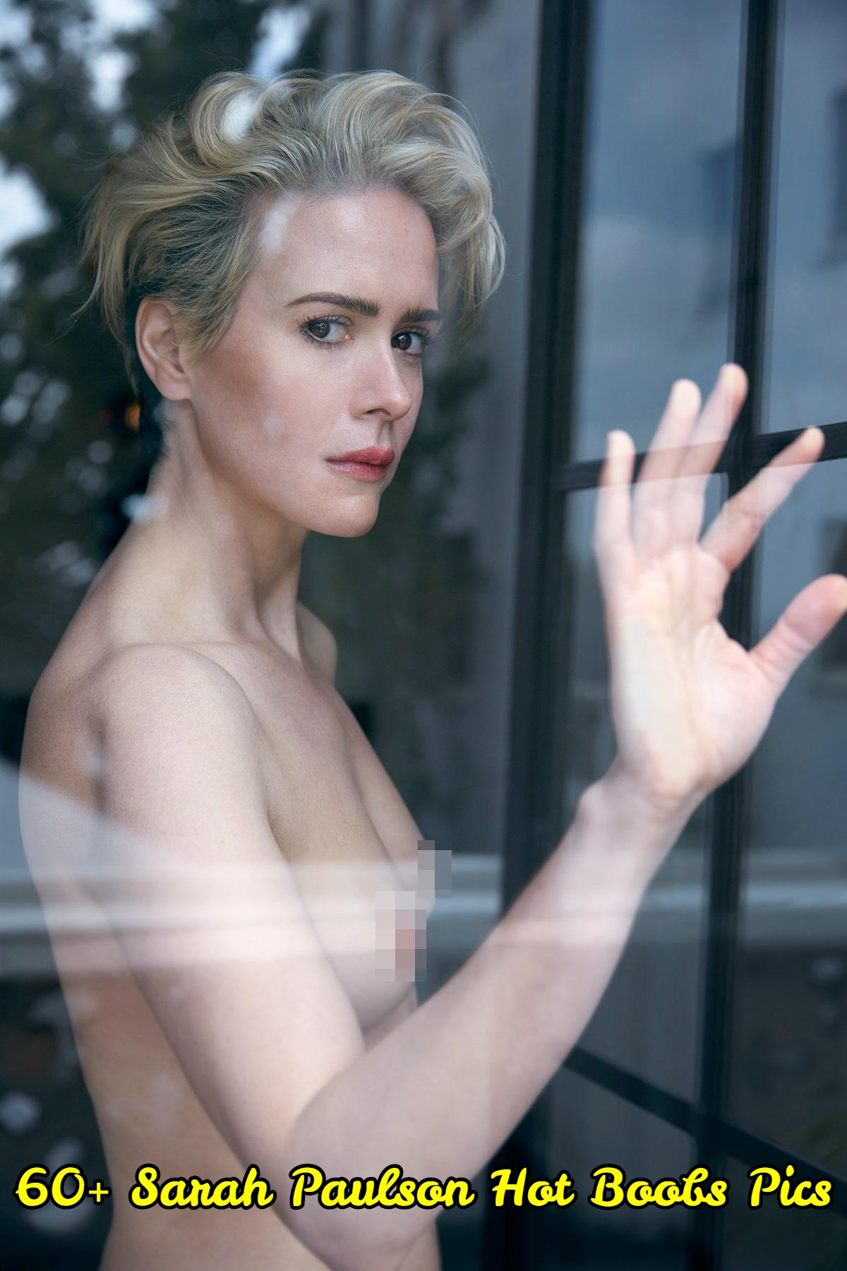 Sarah Paulson hot boobs pics