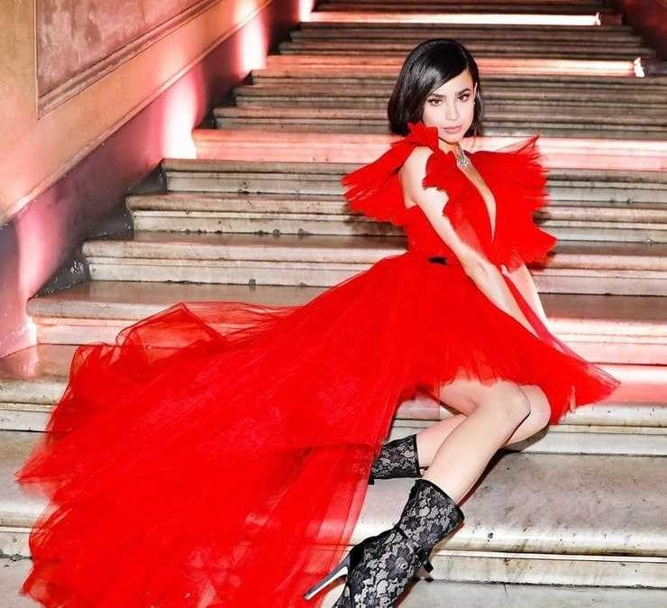 61 Sexiest Sofia Carson Boobs Pictures Will Make You Envy The