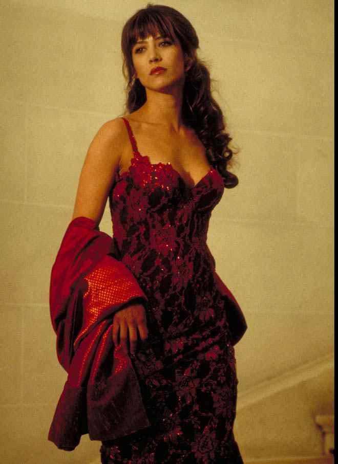 Sophie Marceau hot look pictures