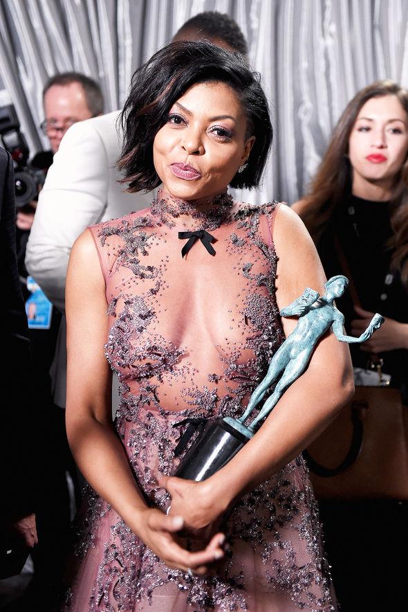 Taraji P. Henson biog breasts pics