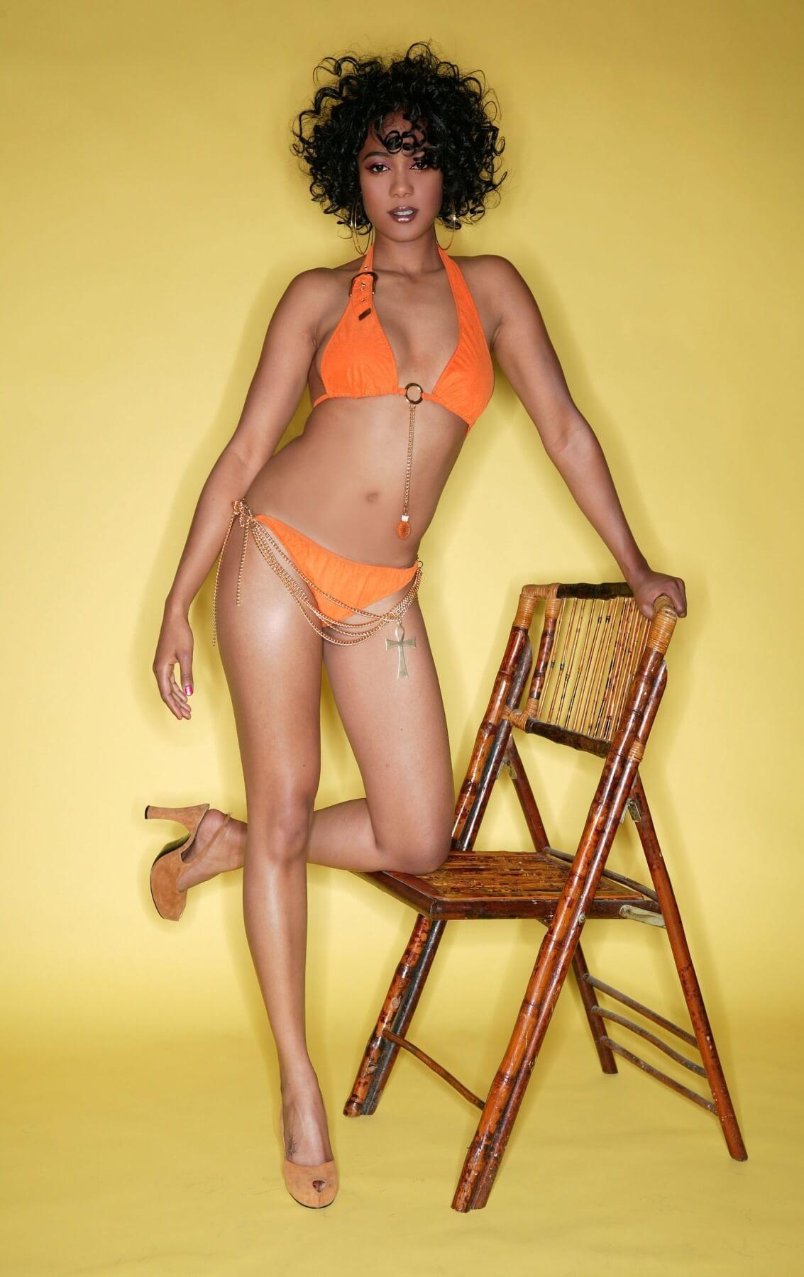 Tatyana Ali hot lingerie pics