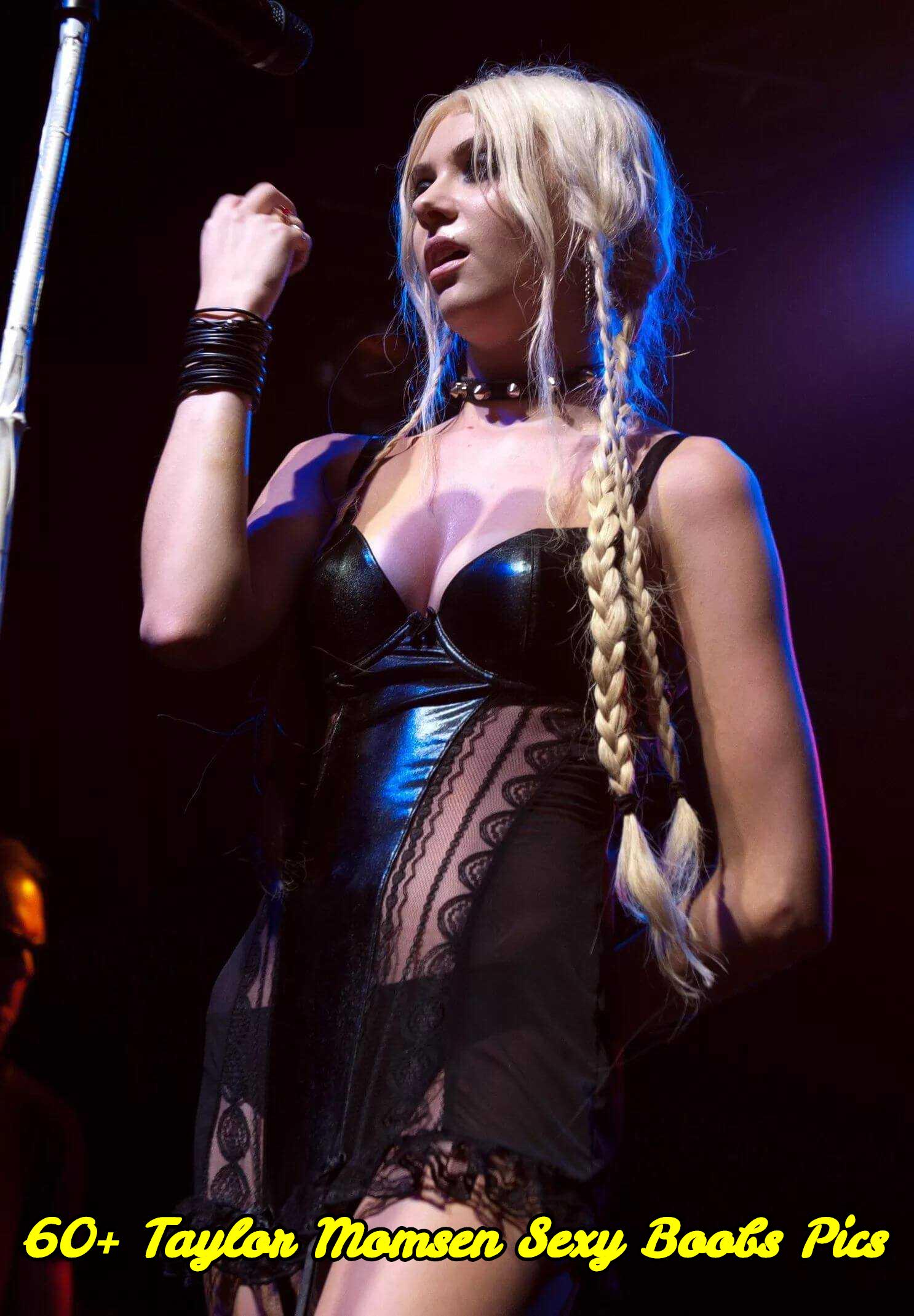 Taylor Momsen sexy boobs pics