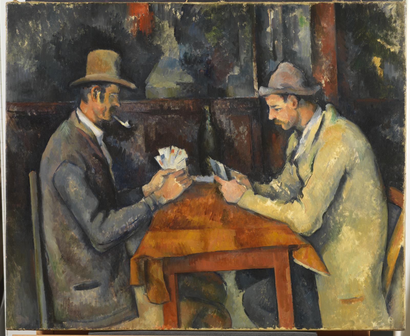 The Card Player – Paul Cezanne