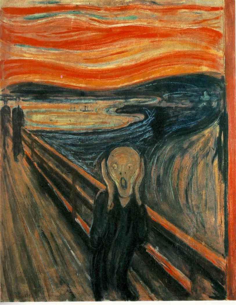 The Scream – Edvard Munch