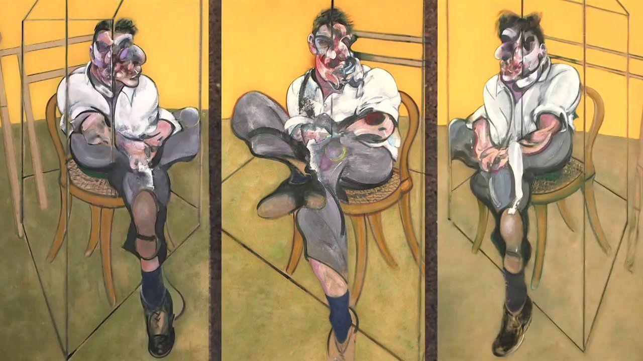 Three Studies of Lucian Freud – Francis Bacon