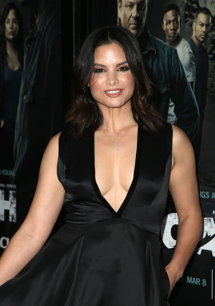 katrina law hot cleavage
