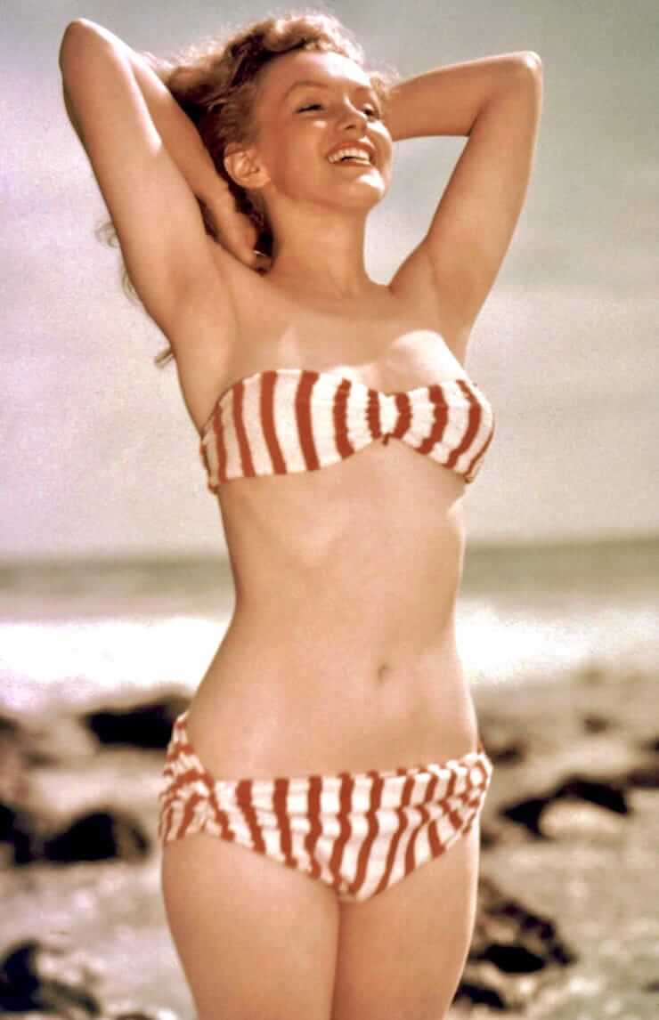 marilyn monroe bikini pics