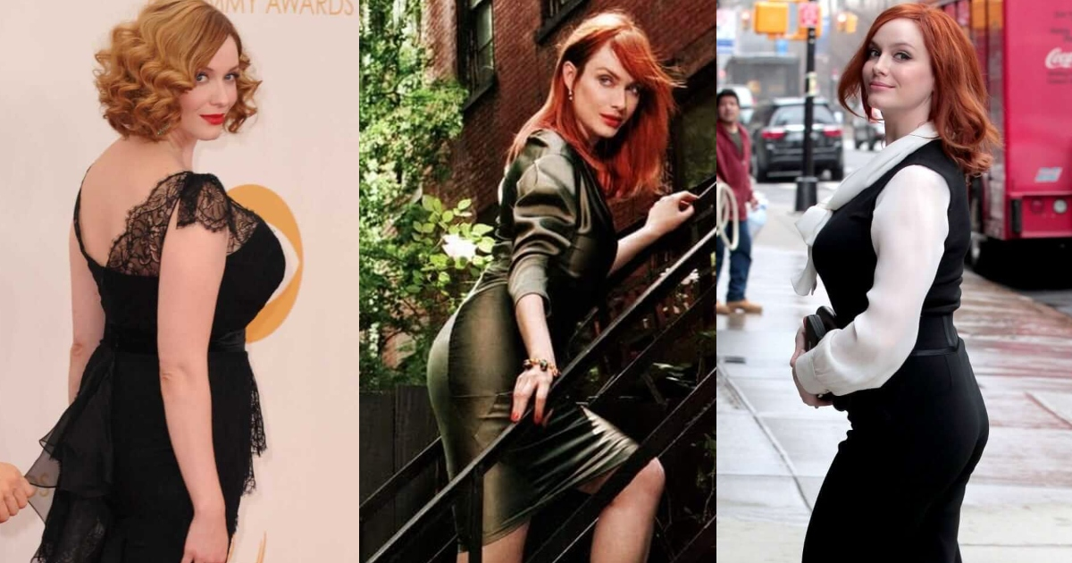 51 Christina Hendricks Shiny Ass Pictures Are Out Of This World