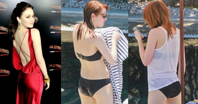 51 Emma Stone Cute Ass Pictures Will Soothe Your Eyes