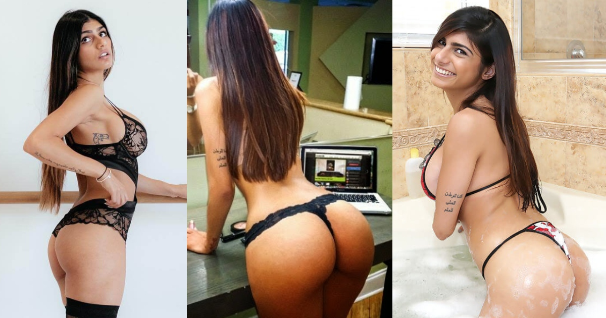 51 Mia Khalifa Big Ass Pictures Define Why Men Love Booty