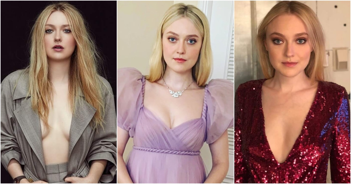 61 Hottest Dakota Fanning Boobs Pictures Expose Her Perfect Cleavage