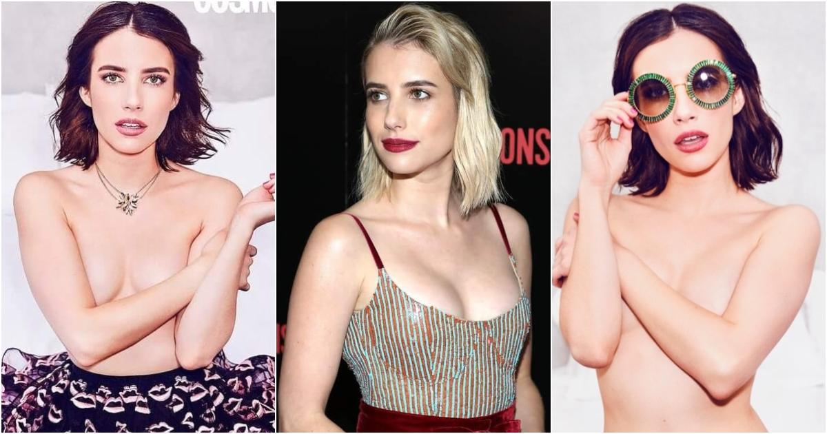 Emma roberts tits