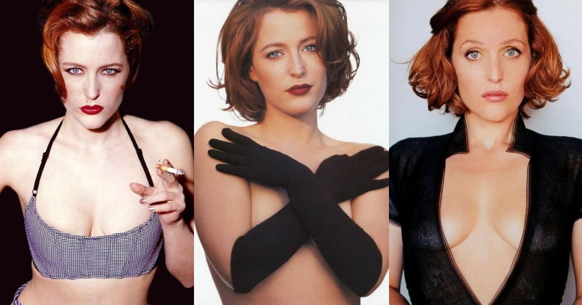 61 Hottest Gillian Anderson Boobs Pictures Expose Her Perfect Cleavage