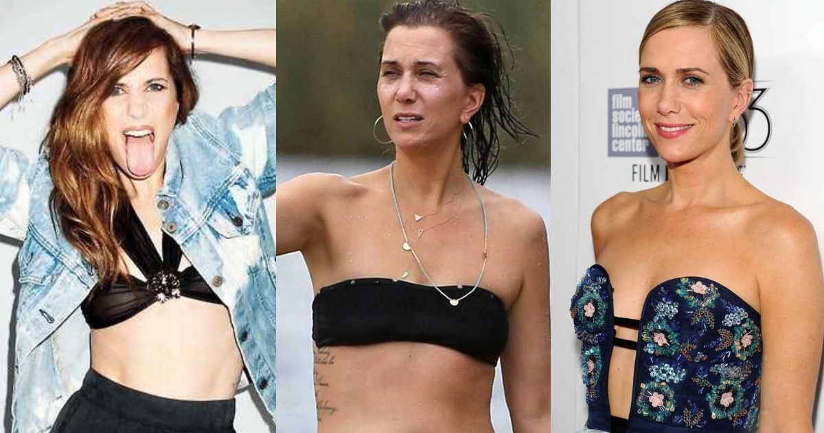 61 Hottest Kristen Wiig Boobs Pictures Are A Perfect Fit To Make Her A Hottie Hit